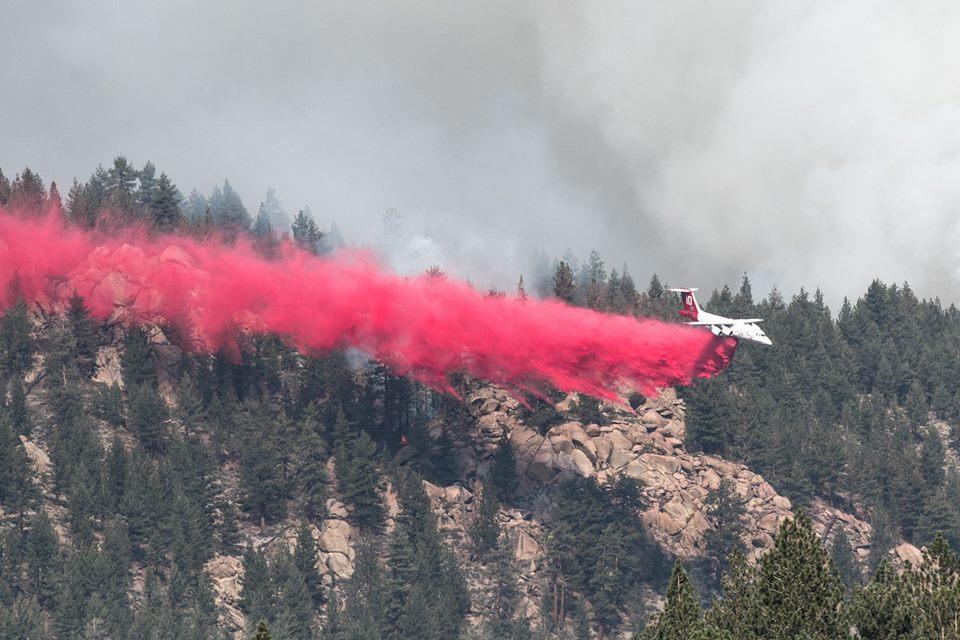 Owens River Fire
