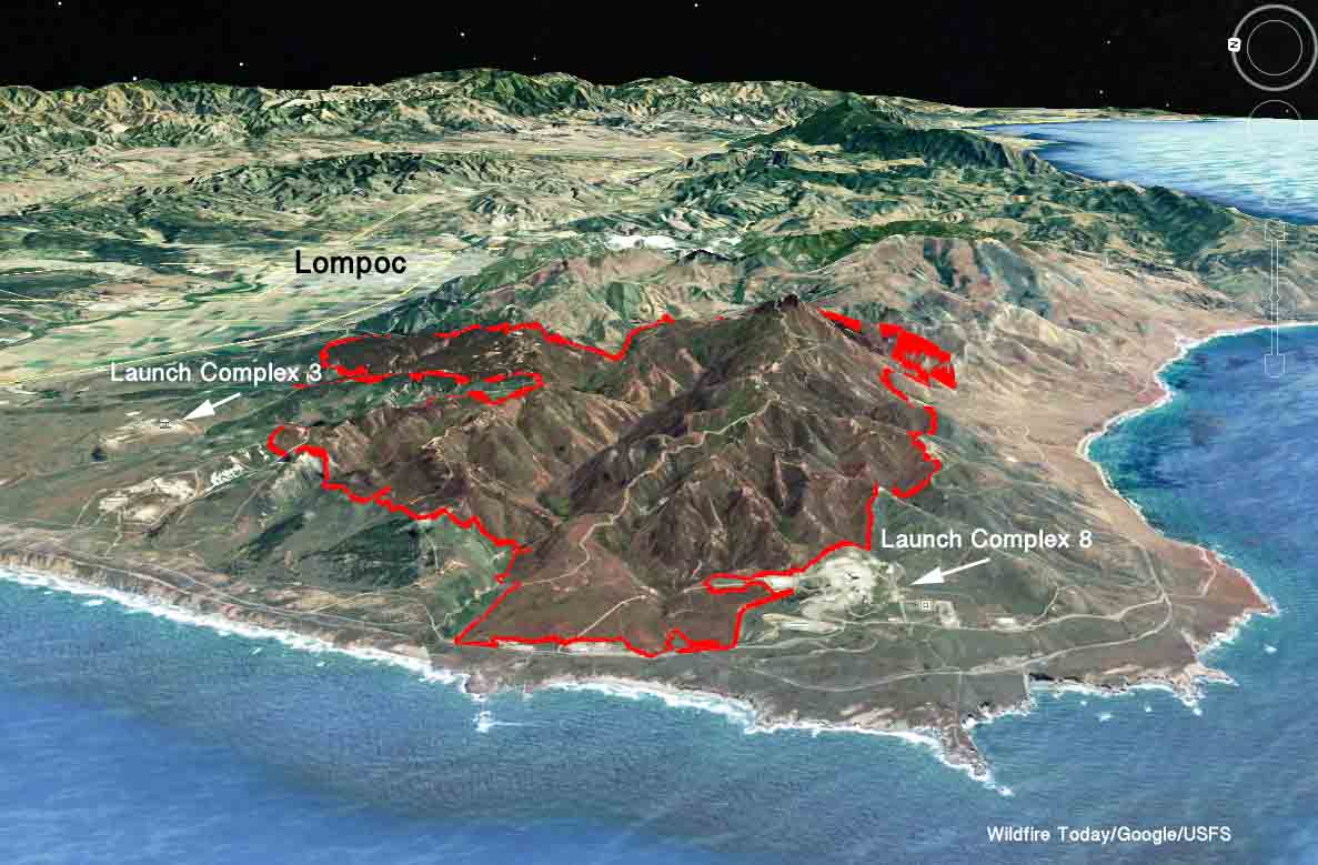 map Canyon Fire