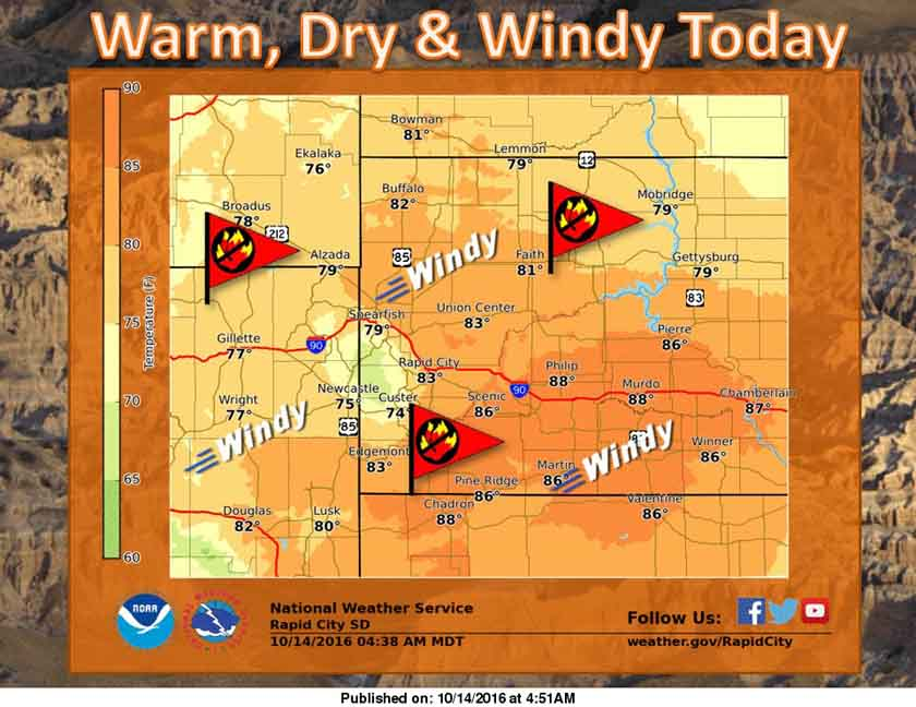 fire weather black hills