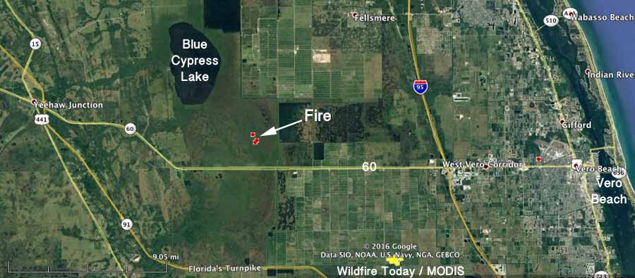 map wildfire indian river county florida