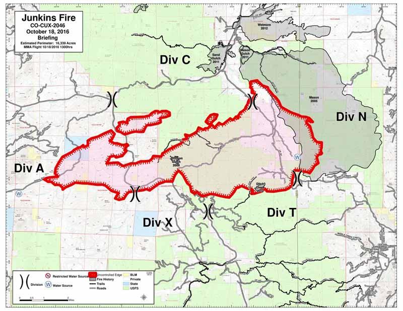 Junkins Fire Causes Evacuations West Of Pueblo Colorado Wildfire