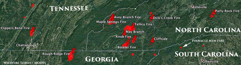 Smoke From Wildfires Impacts Georgia  Wildfire Today