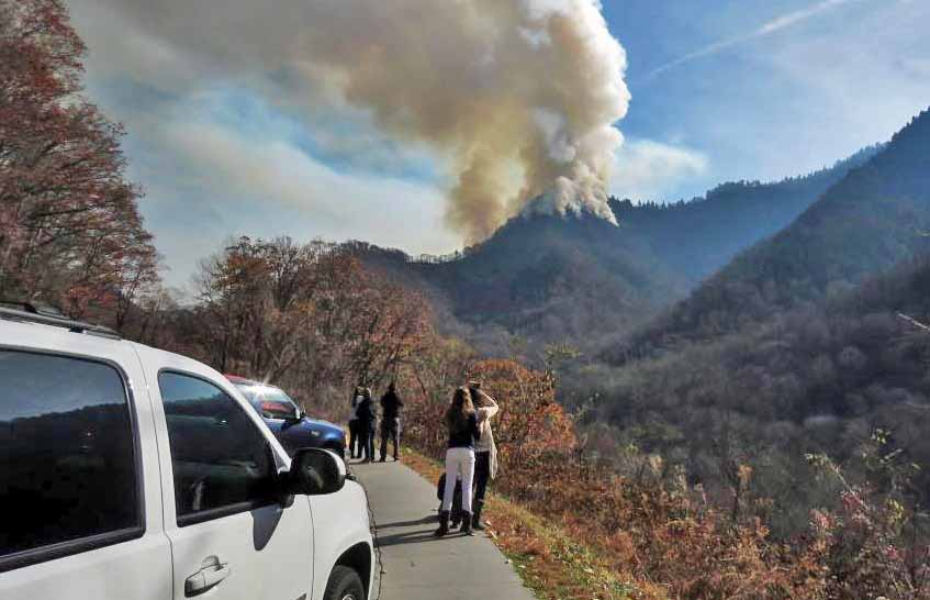 Update On Gatlinburg Fires Three People Killed Wildfire