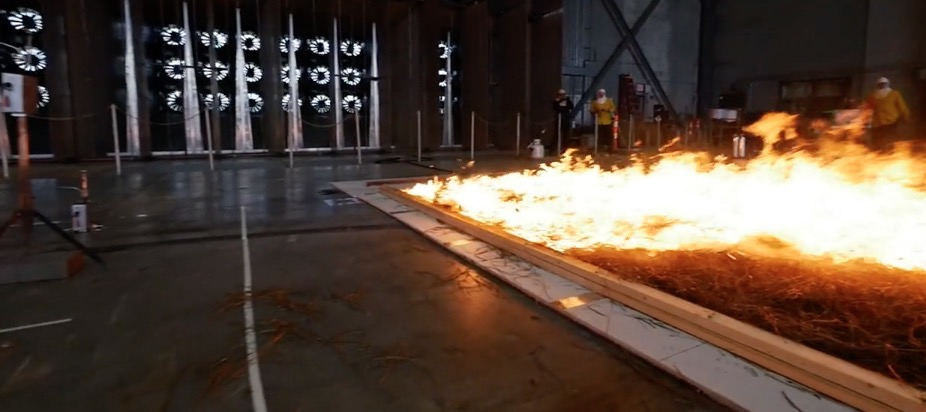 Live event to discuss wildfire wind tunnel studies
