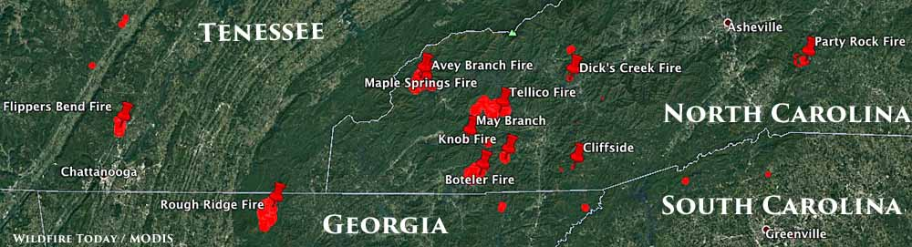 North GA And WNC  Wildfire Update  Page 2  NGTO Message