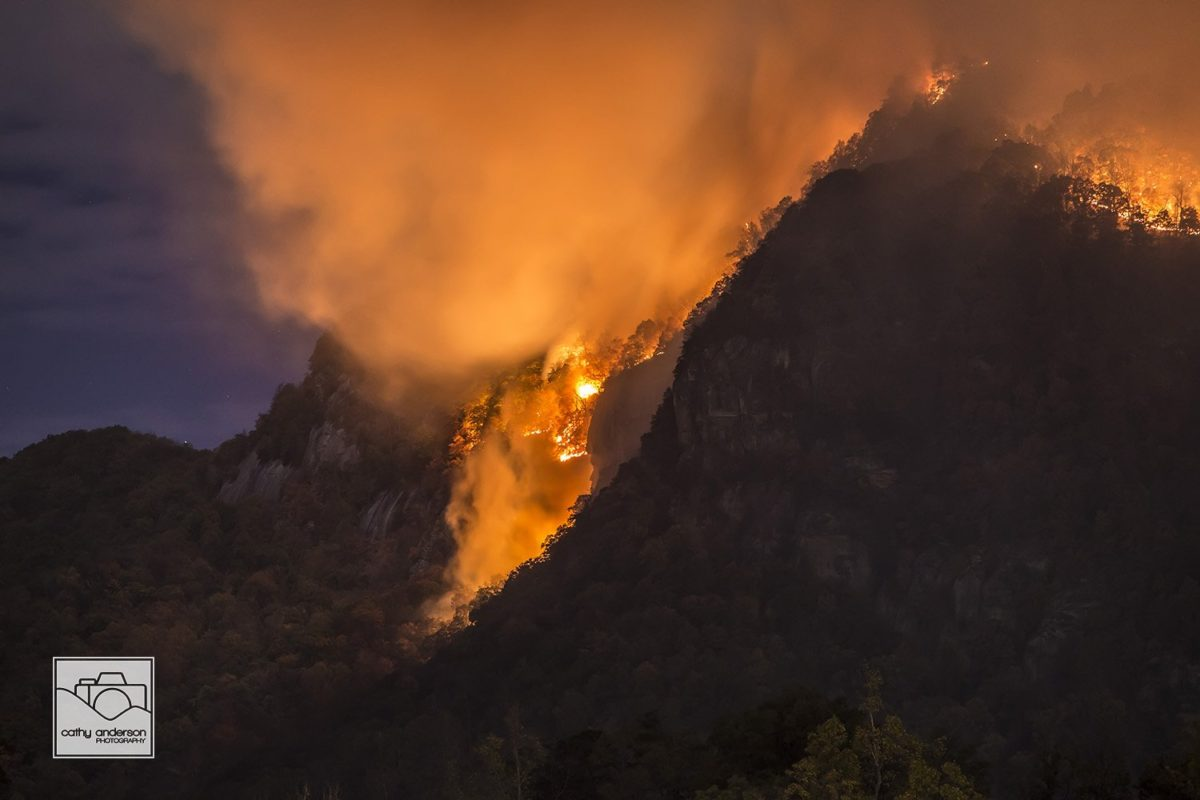 Evacuations continue for Party Rock Fire in North Carolina