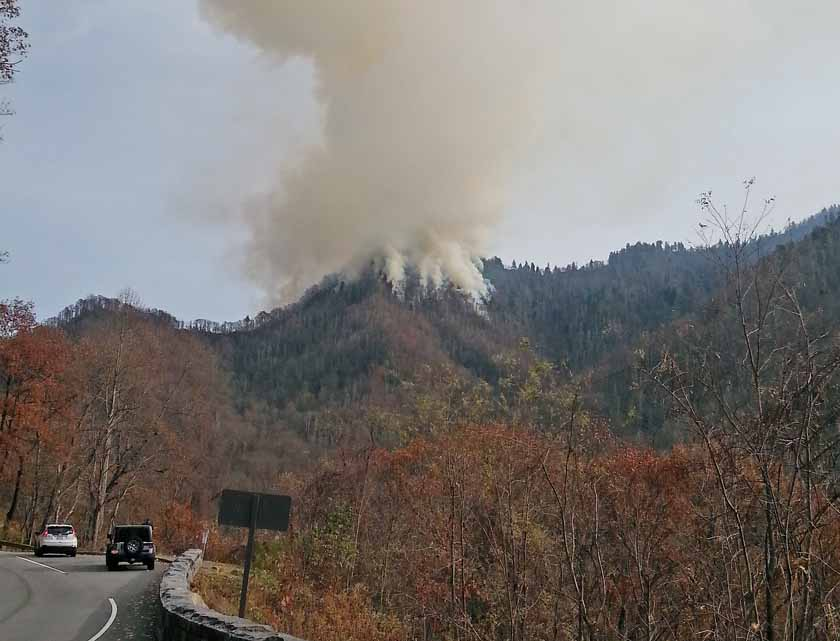 NPS releases information about the Chimney Tops 2 Fire