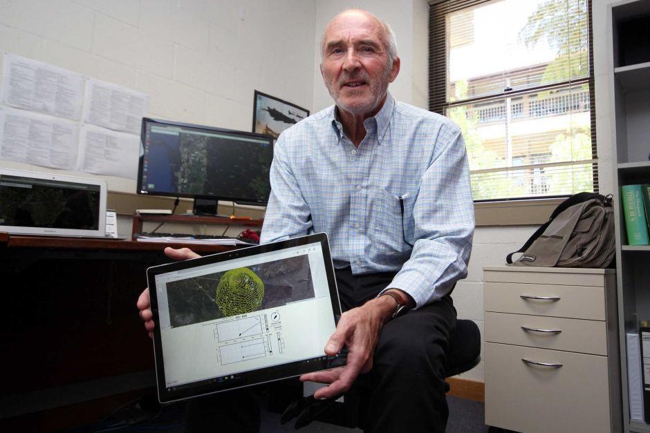 UWA Professor George Milne