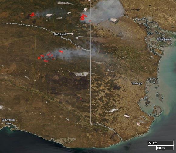 Fires Argentina
