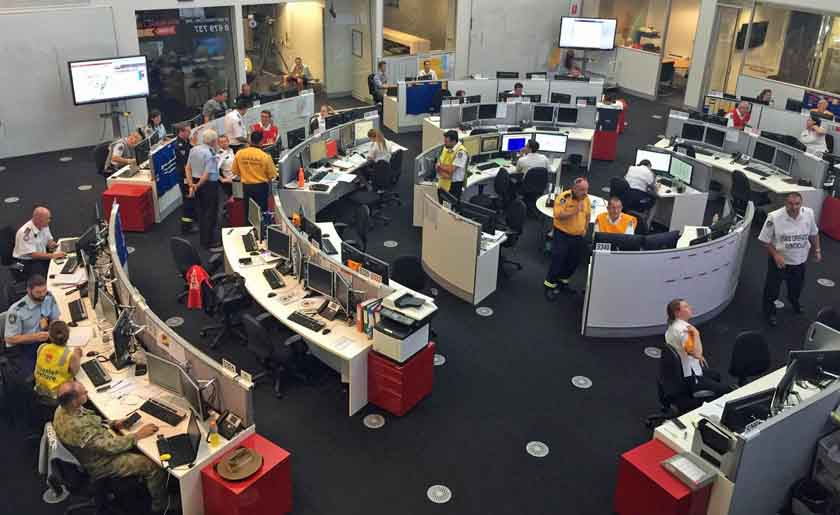 New South Wales State Operations Center