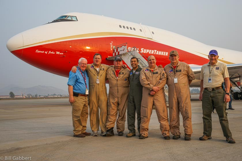 747 SuperTanker crew