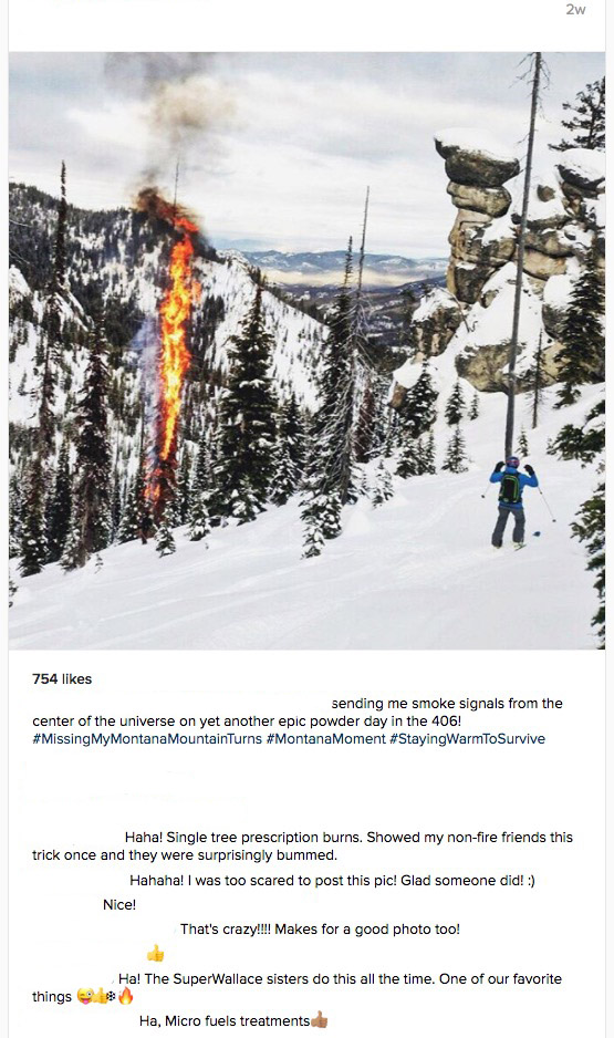 arson in snow
