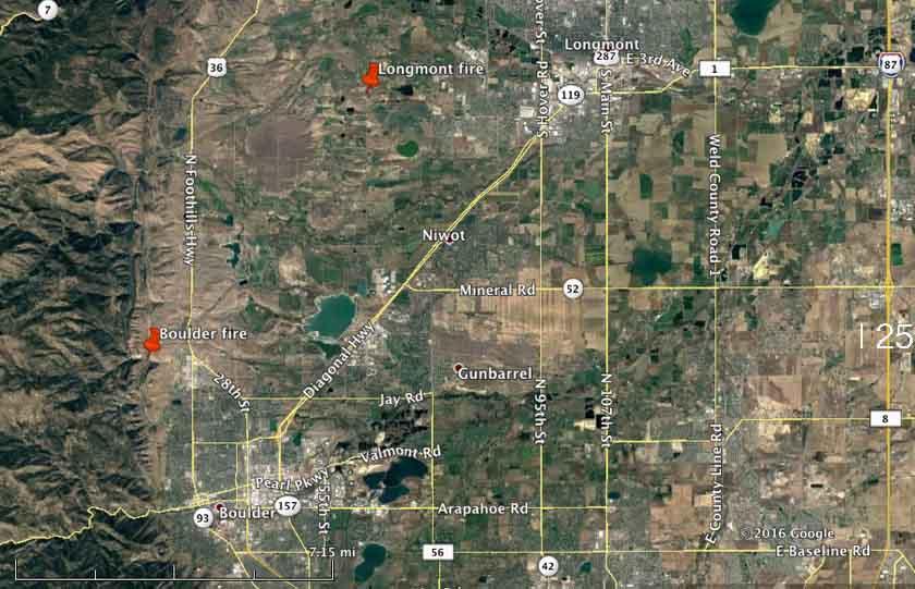 map fires longmont boulder