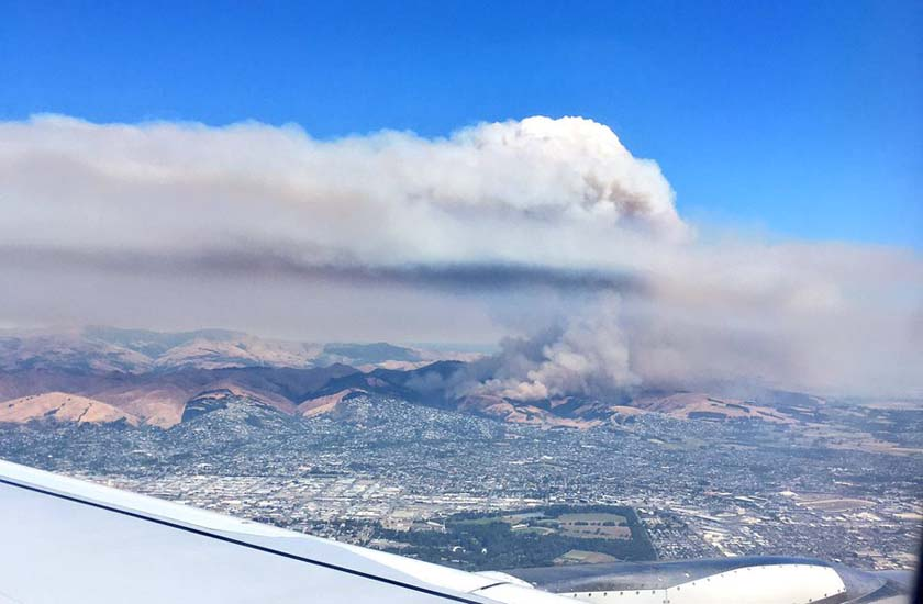 Wildfire threatens Christchurch, New Zealand