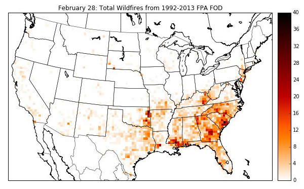 wildfire occurrence