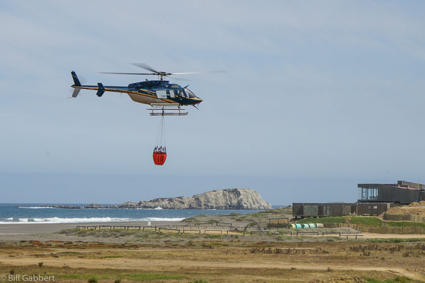 Matanzas Fire Chile helicopter