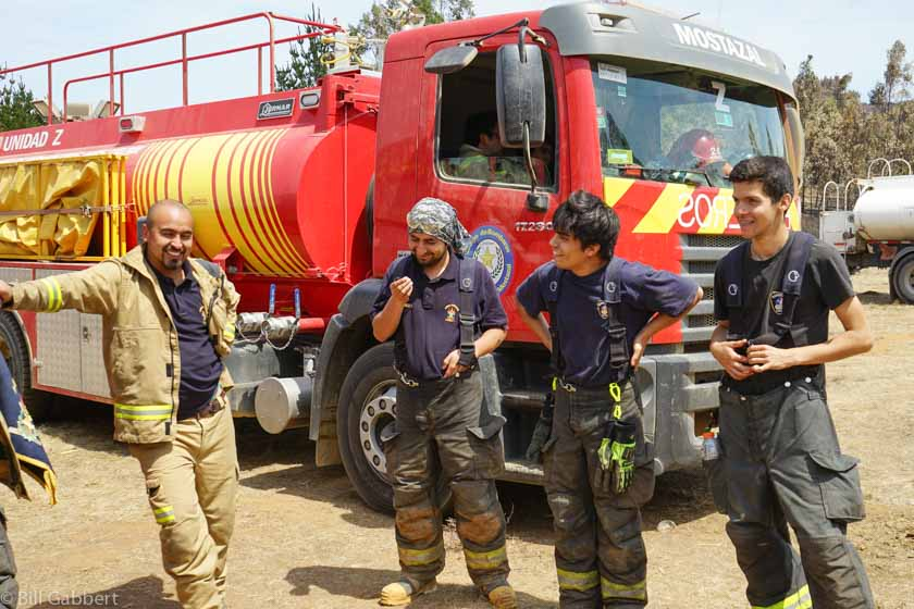 Matanzas Fire Chile