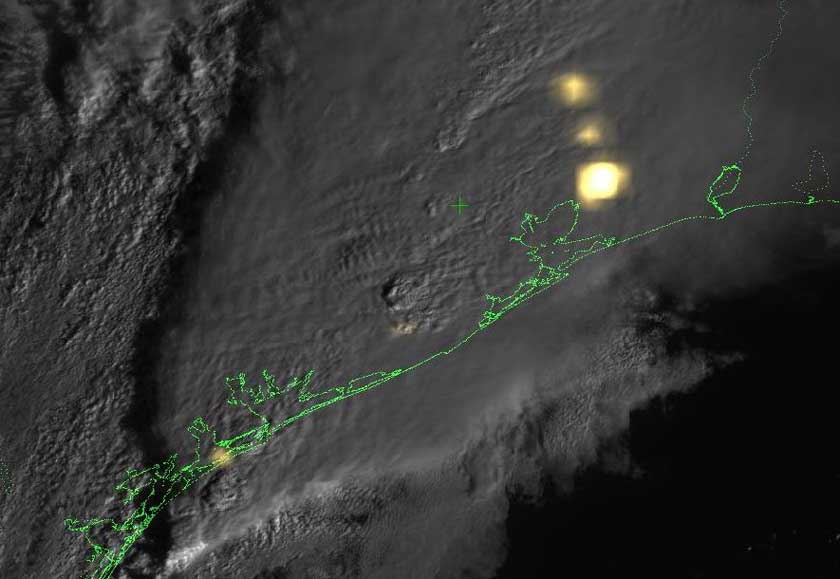 New lightning sensor on GOES-16