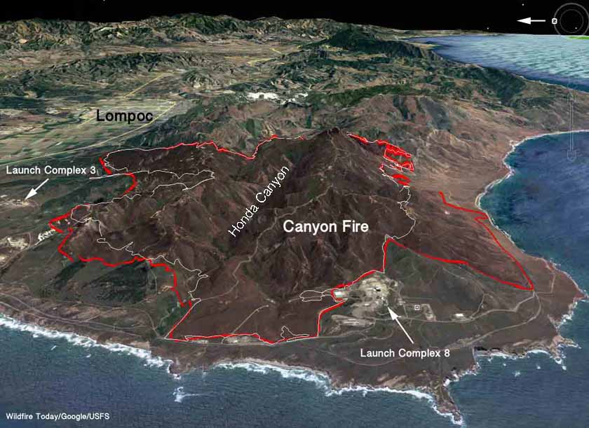 Canyon Fire entrapment