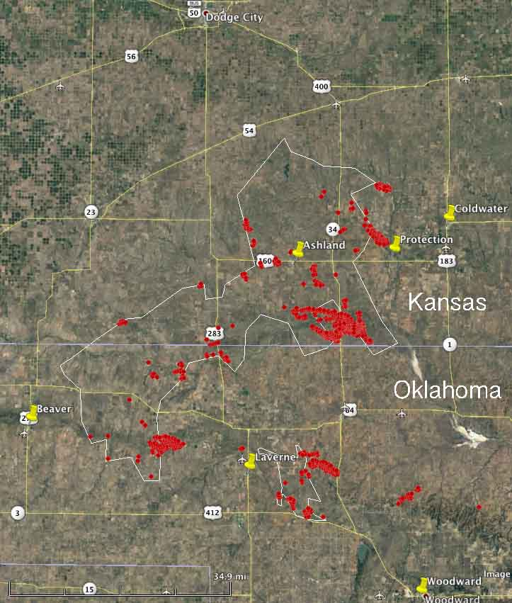Wildfires continue to spread in Kansas, Oklahoma, and Texas ...