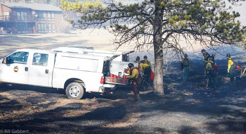 Whitetail Fire South Dakota