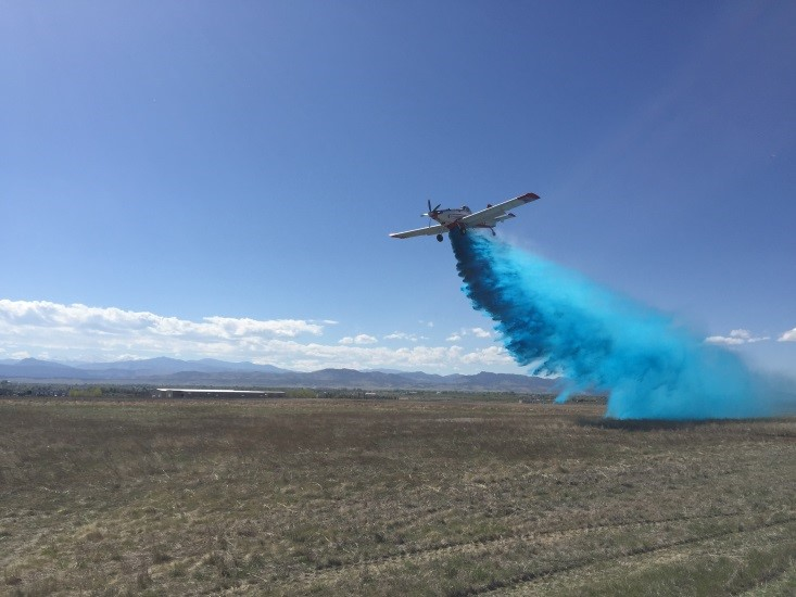 Colorado studying water enhancer effectiveness on fire attack during 2017 wildfire season