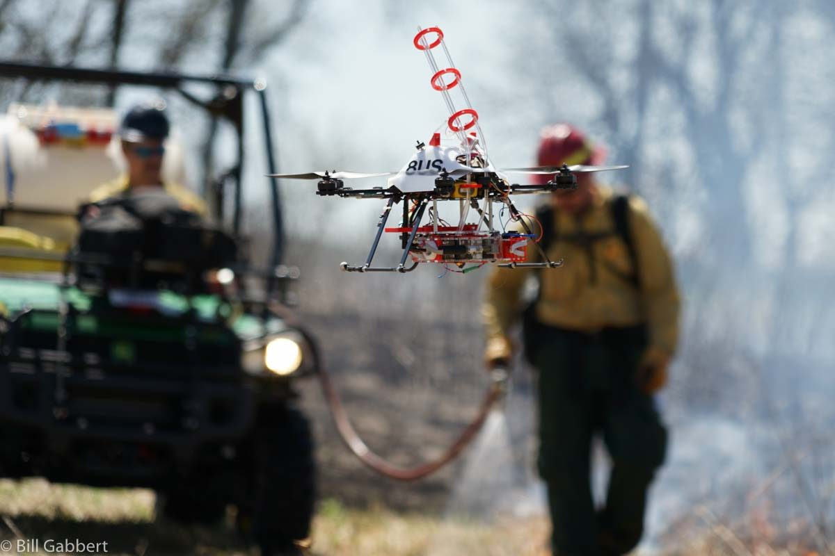 Drones to help crews combat future Grand Canyon wildfires