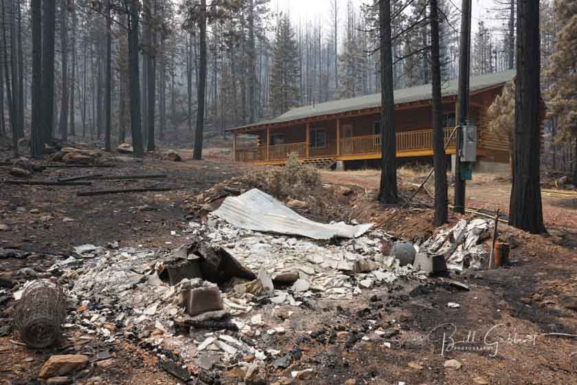 Adaptive resilience to wildfire