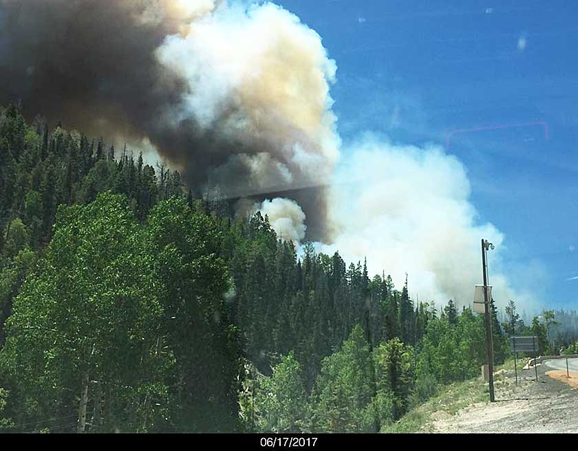 Brian Head evacuated due to wildfire
