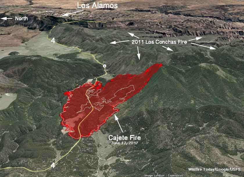 los alamos fires essay Map showing the location of the cajete and bonita fires in northern new mexico, june 16, 2017 steve bassett constructed the map below showing that the cajeta fire is partially hemmed in by.