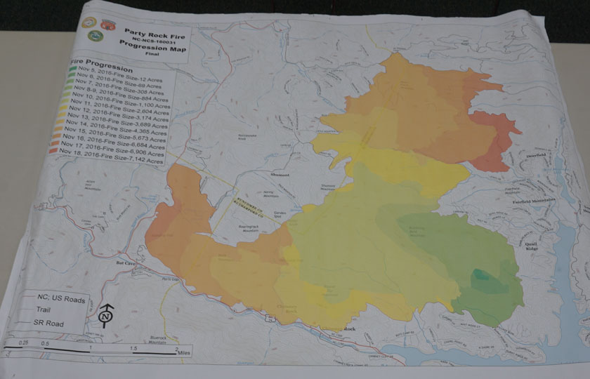 Tennessee Wildfire Today - Us forest service east tn wiildfires map