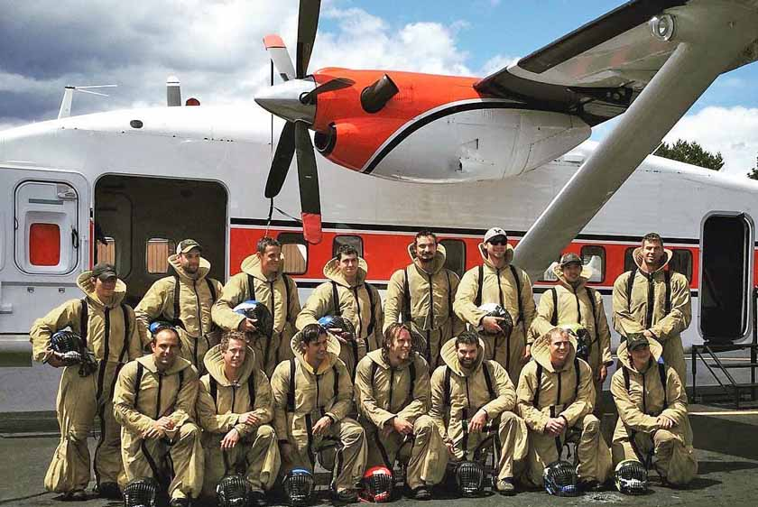 15 new rookie smokejumpers in the Northern Geographic Area