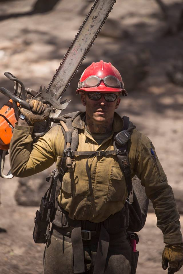 Firefighter Brian Head Fire