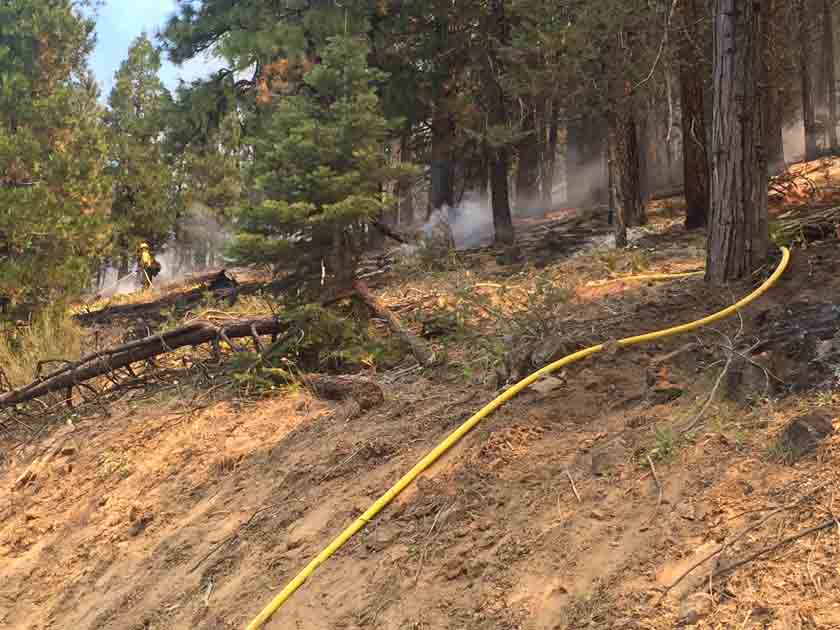 Modoc July Complex fires California