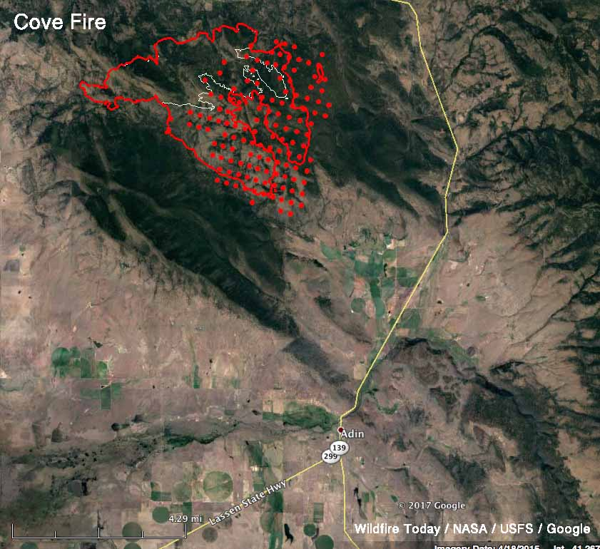 map cove fire