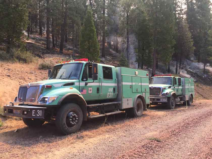 Modoc July Complex fires California