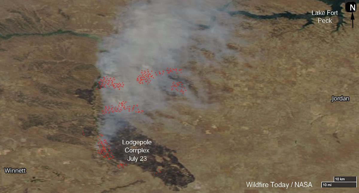 Lodgepole Complex Fire Map Lodgepole Complex Archives   Wildfire Today