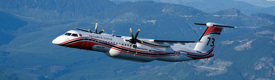 France will be ordering Q400's to replace their S-2 air tankers