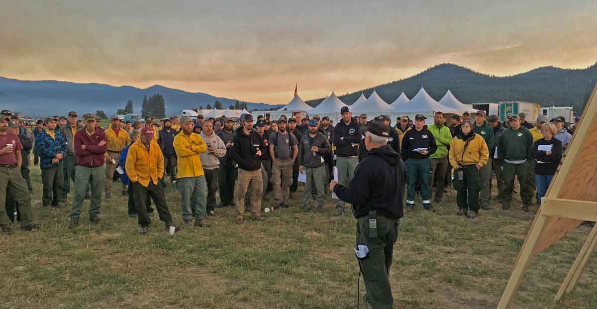 Sunrise Fire west of Missoula adds another 600 acres