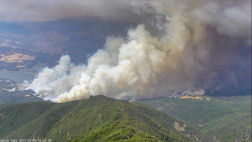 Whittier Fire Santa Ynez