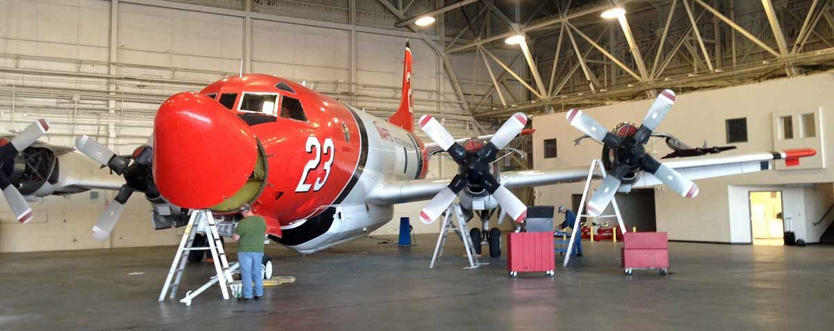 A P3 Orion air tanker is being resurrected