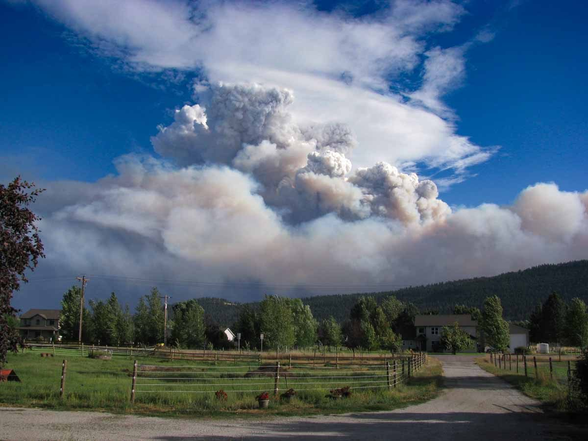 Lolo Peak fire explodes to 15000+ acres, more evacuations ordered