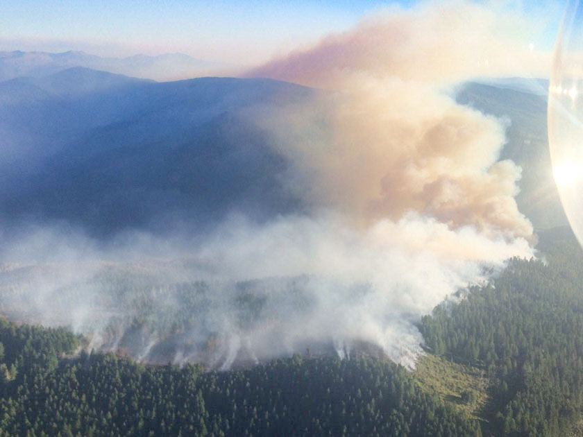 Chetco Bar Fire in Oregon quadruples in four days, approaches 100,000 acres