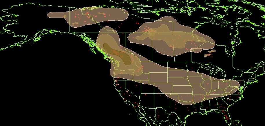 Wildfire smoke and air quality, August 10, 2017