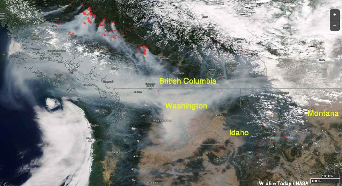 Forest fires in British Columbia: the prolonged state of emergency