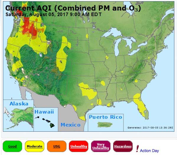 air quality Archives Wildfire Today