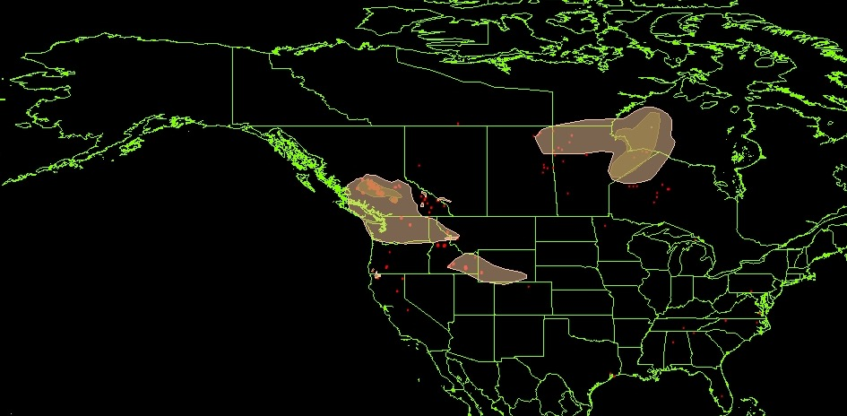 Maps Of Wildfires And Smoke In The US Northwest And British - Us wildfire map