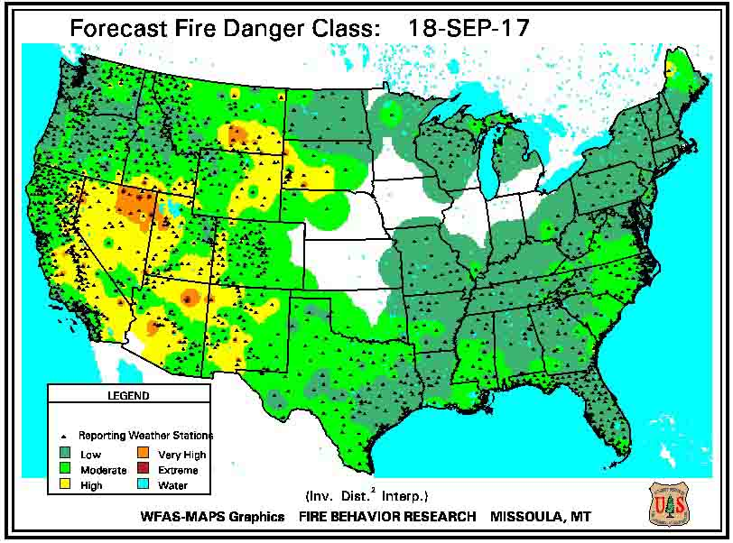 wildland fire danger