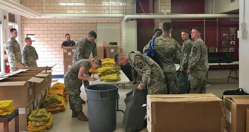 Military mobilized to help fight wildfires