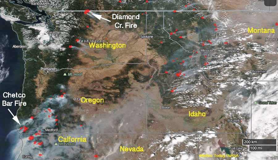 Diamond Creek Fire Archives Wildfire Today
